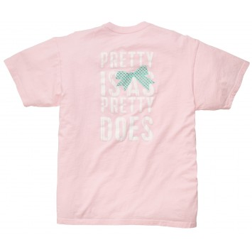 Who Said It Tee - Pretty Is As Pretty Does